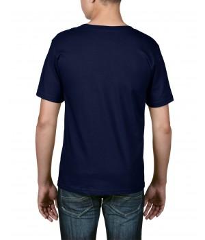 Детска тениска тъмно синя