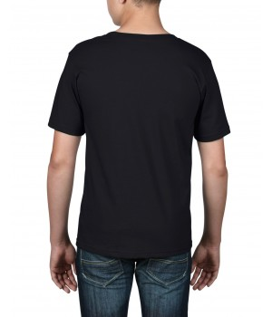 Детска тениска черна