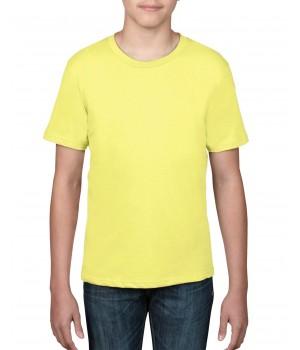Детска тениска жълта