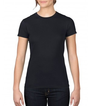 Черна дамска тениска