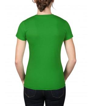Зелена  дамска тениска