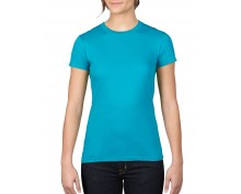 Caribean blue Lady Fit S/S sleeve t-shirt