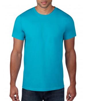 Карибско синя мъжка тениска