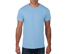 Men light blue short sleeve t-shirt