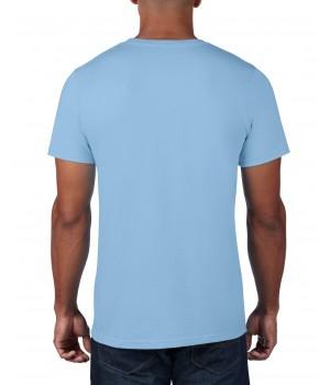 Светло синя мъжка тениска