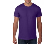 Men purple short sleeve t-shirt