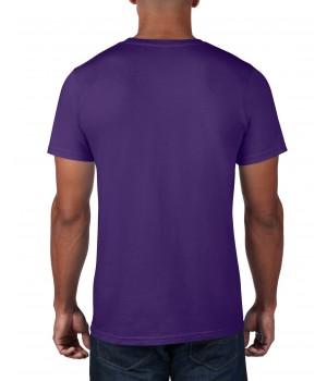Лилава мъжка тениска