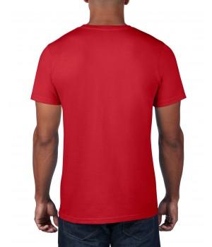 Червена мъжка тениска