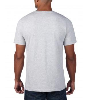 Светло сива мъжка тениска