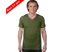 Anvil basic V-neck T