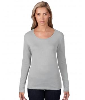 Дамска тениска с широко бие