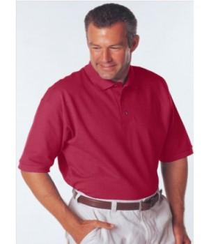 Червена мъжка поло тениска Анвил