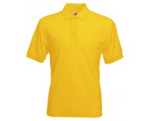 Pique Polo shirt - yellow