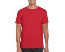Тениска Гилдан ID6400 червена