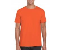 Тениска Гилдан ID6400 оранжева