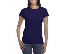 Дамска Тениска Гилдан ID64000 Т.синя