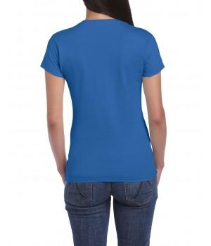 Дамска Тениска Гилдан ID6400 Softstyle