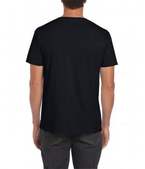 Тениска Гилдан ID6400 черна