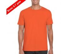 Мъжка тениска пениран памук
