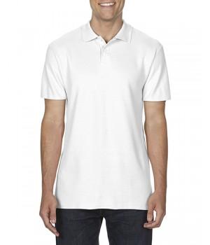Поло тениска гилдан GI64800 бяла