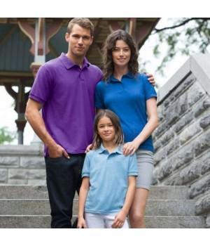 Детска поло тениска гилдан GiB 72800 Dryblend