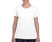 Дамска Тениска Гилдан ID5000 бяла