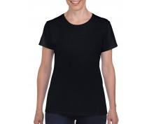 Дамска Тениска Гилдан ID5000 черна