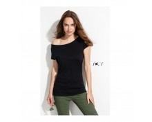 Sol's women round colar t-shirt